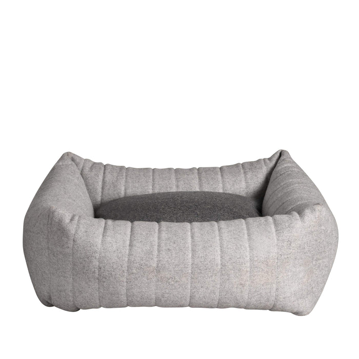 Columbus Pet Bed By Lord Lou - Light Grey