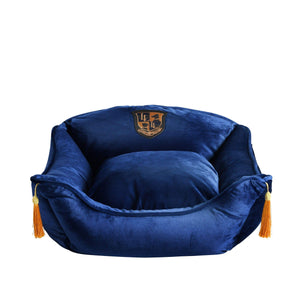 Lord Lou Dog Beds Diana Velvet Cushion By Lord Lou - Blue ----- PetsOwnUs - Pets Own Us