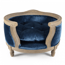Lord Lou Dog Beds Small George Luxury Dog & Cat Bed by Lord Lou - Royal Blue Velvet PetsOwnUs - Pets Own Us