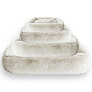 Lord lou Soft Dog Bed & Cushion Small Harvey Arctic Soft Luxury Dog Bed by Lord Lou PetsOwnUs - Pets Own Us