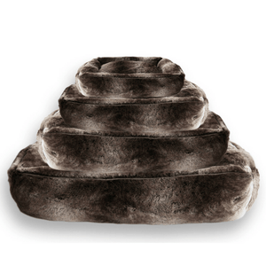 Lord Lou Soft Dog Bed & Cushion Small Harvey Silver Fox Soft Luxury Dog Bed by Lord Lou PetsOwnUs - Pets Own Us