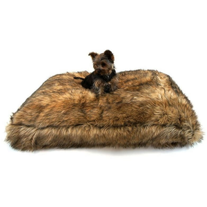 Lord Lou Dog Bed Extra Small Lord Lou Max Dog Cushion in Blonde Wolf 149 PetsOwnUs - Pets Own Us