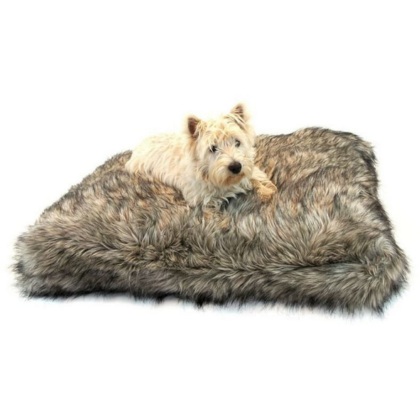Lord Lou Dog Beds Medium Lord Lou Max Dog Cushion in Grey Wolf 161 PetsOwnUs - Pets Own Us