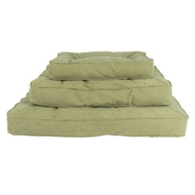 Lord Lou Dog Beds Small / Mocha Lord Lou The London Dog Cushion in Cotton Canvas PetsOwnUs - Pets Own Us