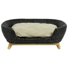 Lord Lou Dog Beds Medium Lord Lou Victor Oval Designer Dog Sofa 570 PetsOwnUs - Pets Own Us