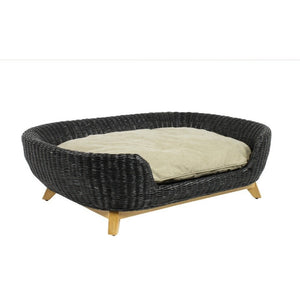 Lord Lou Dog Beds Small Lord Lou Victor Oval Designer Dog Sofa 560 PetsOwnUs - Pets Own Us