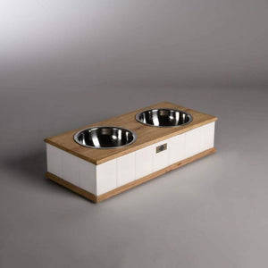 Lord Lou Verona Pet Feeder By Lord Lou - White PetsOwnUs - Pets Own Us