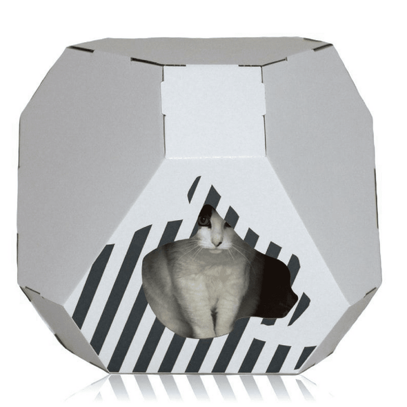 MyKotty Cat Furniture Default Title Mia Reversible Cat Cave by MyKotty PetsOwnUs - Pets Own Us