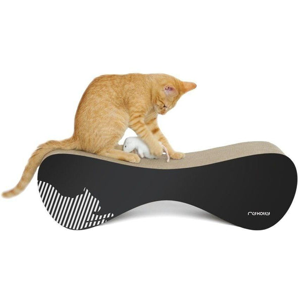 MyKotty Cat Furniture Black Vigo Cat Scratcher and Lounger by myKotty PetsOwnUs - Pets Own Us