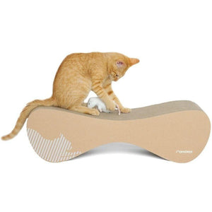 MyKotty Cat Furniture Brown Vigo Cat Scratcher and Lounger by myKotty PetsOwnUs - Pets Own Us