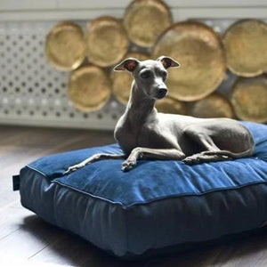 Oh Charlie Allure Pet Bed/ Pillow LUXURY by Oh Charlie - Navy Blue PetsOwnUs - Pets Own Us