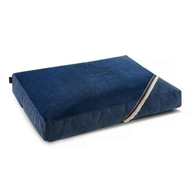 Allure Pet Bed/ Pillow LUXURY by Oh Charlie - Navy Blue