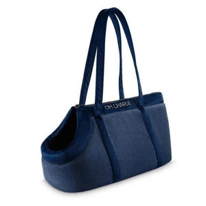Oh Charlie O/S / Navy Blue Allure Travel Bag LUXURY by Oh Charlie - Navy Blue PetsOwnUs - Pets Own Us