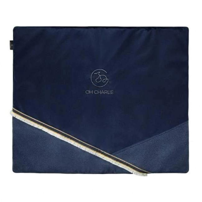 Allure Travel Mat LUXURY by Oh Charlie - Navy Blue