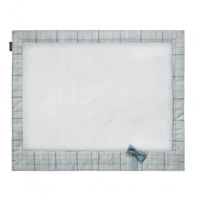 Charm Blue Travel Mat by Oh Charlie - Blue