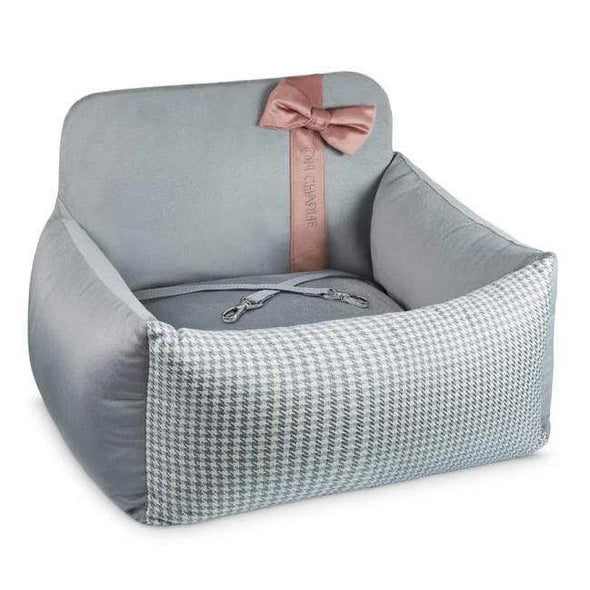 Oh Charlie O/S Finessa Car Seat by Oh Charlie - Pink & Grey PetsOwnUs - Pets Own Us