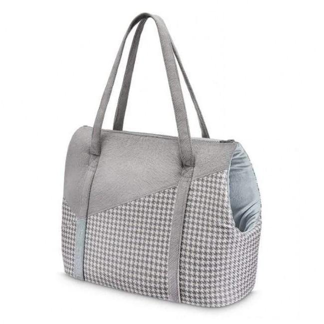 Finessa Travel Bag by Oh Charlie - Blue & Grey