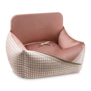 Oh Charlie O/S Glamour Car Seat LUXURY by Oh Charlie - Pink PetsOwnUs - Pets Own Us