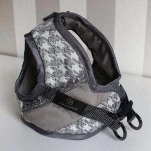 Glamour Harnesses by Oh Charlie - Grey  Brand_Oh Charlie, Color_Grey, Size_Large, Size_Medium, Size_Small, Size_XS Oh Charlie