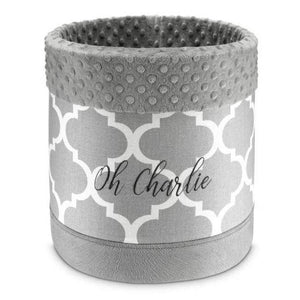 Oh Charlie Toy Box One Size / Grey Marocco Toy Box 30 cm by Oh Charlie - Grey PetsOwnUs - Pets Own Us