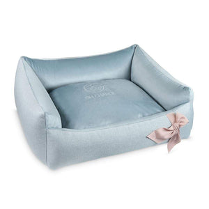 Oh Charlie Dog Beds Mayliss Luxury Dog Bed by Oh Charlie - Pastel Blue PetsOwnUs - Pets Own Us