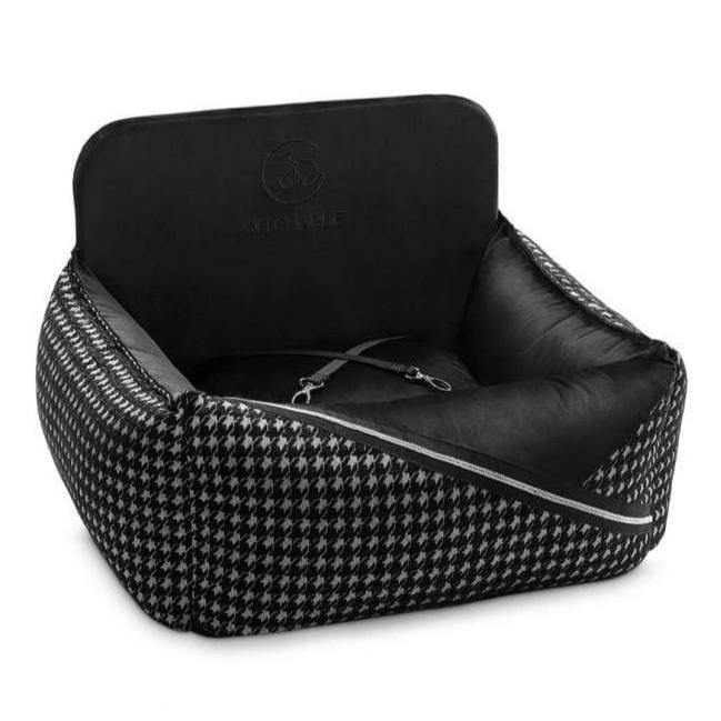 Prestige Black Car Seat LUXURY by Oh Charlie - Black