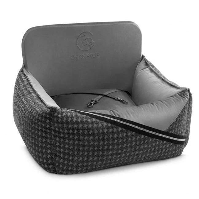 Prestige Silver Car Seat LUXURY by Oh Charlie - Silver