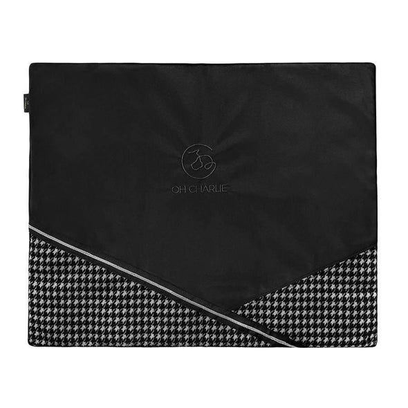 Oh Charlie O/S / Black Prestige Travel Mat LUXURY by Oh Charlie - Black PetsOwnUs - Pets Own Us