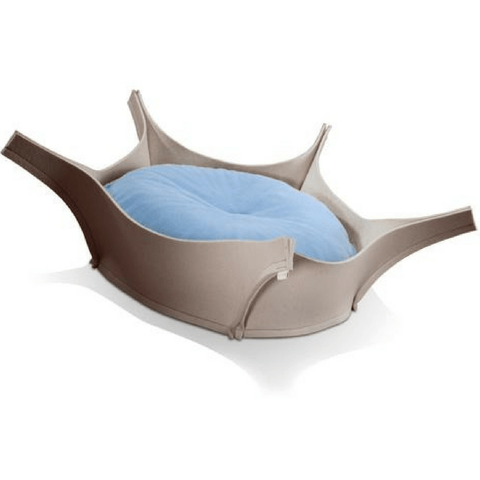 Harry Orthopedic Pet Bed - Grey Felt