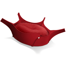 Pet Interiors Dog Beds Red Harry Orthopedic Pet Bed - Red Felt PetsOwnUs - Pets Own Us