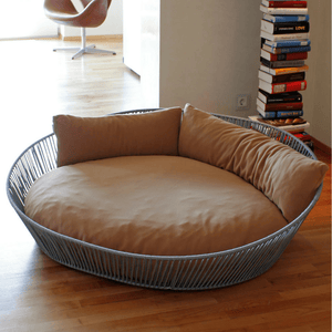 Pet Interiors Dog Bed Large / Caramel Orthopedic Dog Bed, The Siro Twist By Pet Interiors PetsOwnUs - Pets Own Us