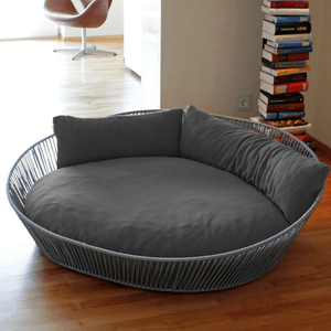 Pet Interiors Dog Bed Large / Grey Orthopedic Dog Bed, The Siro Twist By Pet Interiors PetsOwnUs - Pets Own Us