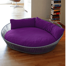 Pet Interiors Dog Bed Large / Violet Orthopedic Dog Bed, The Siro Twist By Pet Interiors PetsOwnUs - Pets Own Us