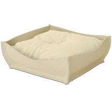 Pet Interiors Luxury Pet Bed Xtra Small / Pea Green Orthopedic Pet Bed By Pet Interiors - Cream Felt Bowl PetsOwnUs - Pets Own Us