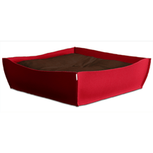 Pet Interiors Orthopedic Pet Beds Xtra Small / Brown Orthopedic Pet Bed By Pet Interiors - Red Felt Bowl PetsOwnUs - Pets Own Us