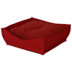 Pet Interiors Orthopedic Pet Beds Xtra Small / Red Orthopedic Pet Bed By Pet Interiors - Red Felt Bowl PetsOwnUs - Pets Own Us