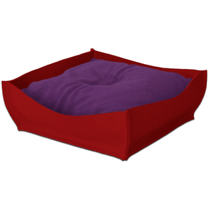 Pet Interiors Orthopedic Pet Beds Xtra Small / Violet Orthopedic Pet Bed By Pet Interiors - Red Felt Bowl PetsOwnUs - Pets Own Us