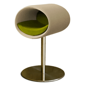 Pet Interiors Cat Beds Cream / Pea Green Rondo Felt Cat Cave Stand by Pet Interiors PetsOwnUs - Pets Own Us
