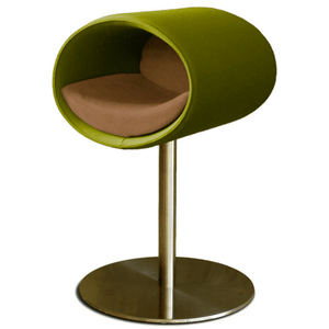 Pet Interiors Cat Beds Pea Green / Caramel Rondo Felt Cat Cave Stand by Pet Interiors PetsOwnUs - Pets Own Us