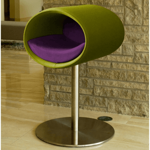 Pet Interiors Cat Beds Pea Green / Violet Rondo Felt Cat Cave Stand by Pet Interiors PetsOwnUs - Pets Own Us