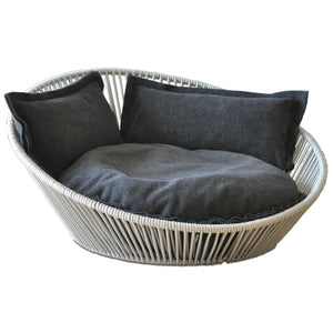 Pet Interiors Pet Bed Small / Graphite Siro Twist Orthopedic Pet Bed by Pet Interiors PetsOwnUs - Pets Own Us