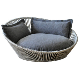 Pet Interiors Pet Bed Small / Grey Siro Twist Orthopedic Pet Bed by Pet Interiors PetsOwnUs - Pets Own Us