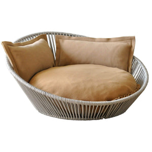 Pet Interiors Pet Bed Small / Caramel The Siro Twist By Pet Interiors - Large Orthopaedic Dog Bed PetsOwnUs - Pets Own Us