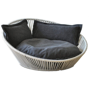 Pet Interiors Pet Bed Small / Graphite The Siro Twist By Pet Interiors - Large Orthopaedic Dog Bed PetsOwnUs - Pets Own Us