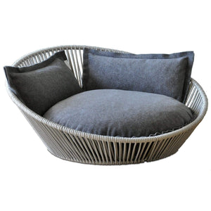 Pet Interiors Pet Bed Small / Grey The Siro Twist By Pet Interiors - Large Orthopaedic Dog Bed PetsOwnUs - Pets Own Us