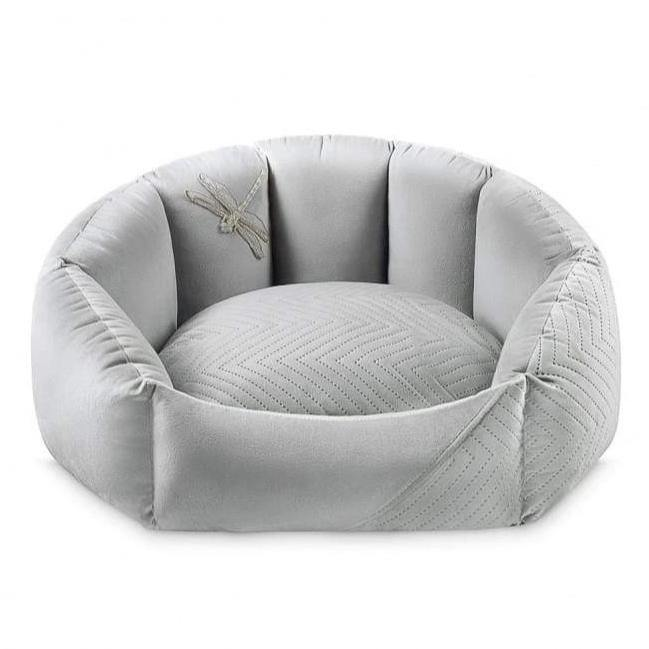 Blissy Pet Bed LUXURY by Oh Charlie - Grey
