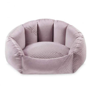 PetsOwnUs Dog Beds Blissy Pet Bed LUXURY by Oh Charlie - Lilac PetsOwnUs - Pets Own Us