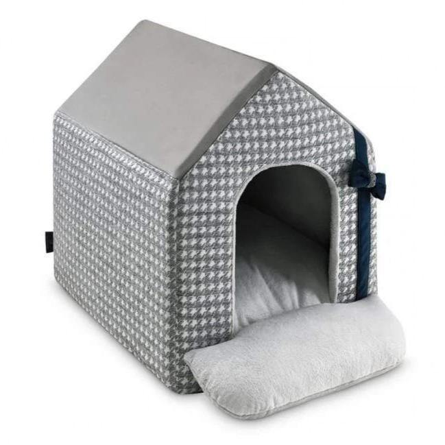 Luxury Glamour Doghouse by Oh Charlie - Grey