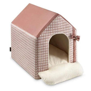 PetsOwnUs One Size / Pink Luxury Glamour Doghouse by Oh Charlie - Pink PetsOwnUs - Pets Own Us