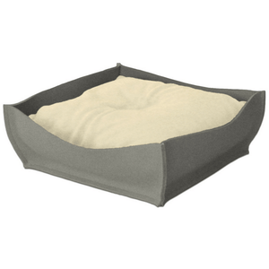 PetsOwnUs Xtra Small / Pea Green Orthopedic Pet Bed By Pet Interiors - Grey Felt Bowl PetsOwnUs - Pets Own Us